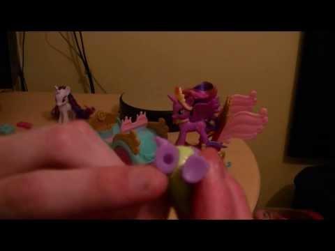 CuteanimefiguresTV My Little Pony Crystal Princess Celebration Cars  Review