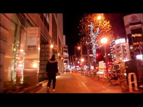 【Broadcasting】 Tokyo Night City Lights Putter Cycling 35【Logicool BRIO(C1000e) + ZHIYUN Z1 Smooth】