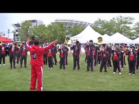 Shaw High School Marching Band in Cleveland