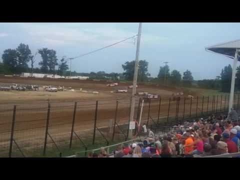 World of Outlaws Late Model Heat 1  Fayette County Speedway