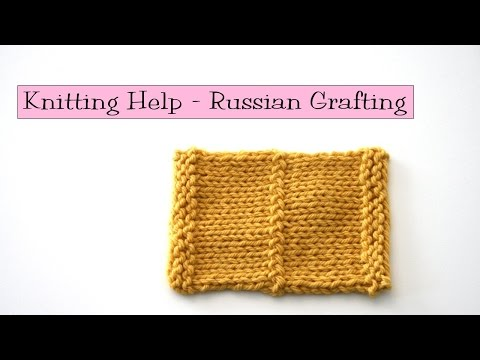 Knitting Grafting Live Stitches : KNITFreedom - Russian Grafting: How To Join Live Stitches With A Crochet Hook...