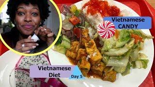 Vietnamese Candy Taste Test!   Vietnamese Diet Day 5   charlycheer