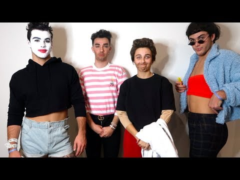 DRESSING UP AS EACHOTHER ft Dolan Twins & James Charles