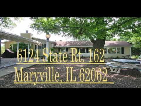 Home for Sale Maryville IL 5 Bed 3 Bath 5 Acres $268,500