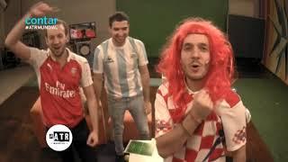 Reacciones Croacia v Inglaterra semifinal Mundial Rusia 2018 - #ATRMundial