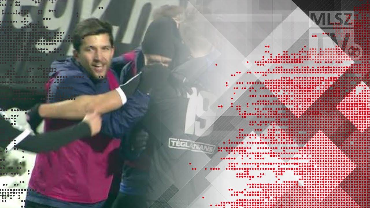 Koszta Márk első gólja az Újpest FC - Mezőkövesd Zsóry FC mérkőzésen