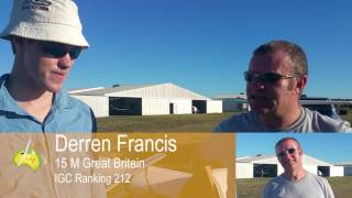 Lisa's After Landing Matthew Scutter and Derren Francis Interviewer and Camera Lisa Trotter