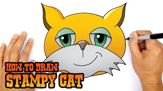 How to Draw Stampy Cat | Drawing Lesson