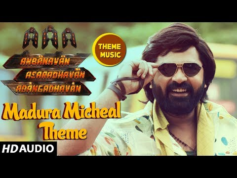 AAA Tamil Songs ► Madurai Micheal Theme Song | STR, Shirya Saran, Tamannaah | Yuvan Shankar Raja