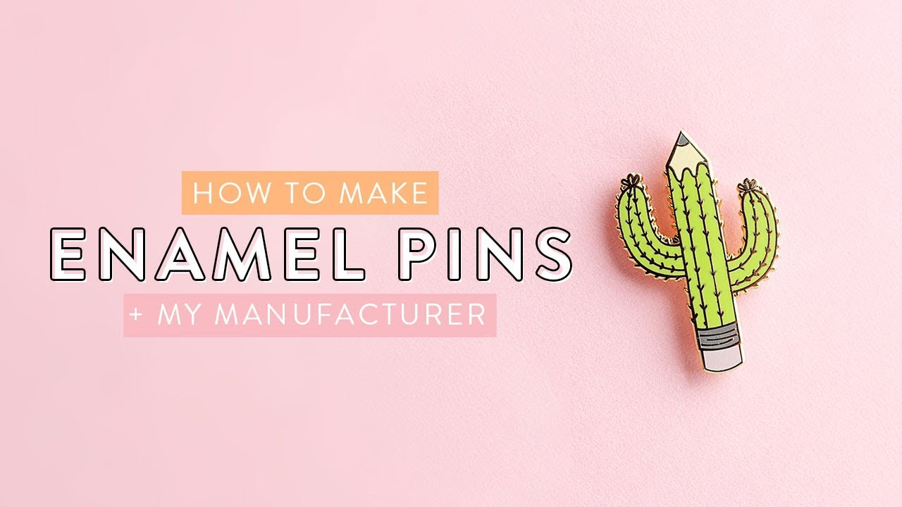 How To Make Enamel Pins From Your Artwork Holly Pixels