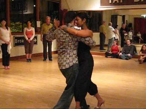 Tango Lesson: Milonga Basic Rhythm & Phrasing