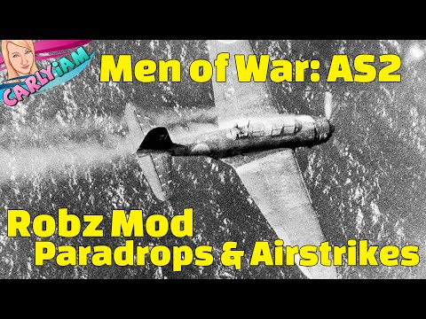 Men of War: Assault Squad 2 - Robz Mod - Caroline Islands Mission - Paradrops & Airstrikes