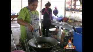 Thai Basil Chicken With Egg - Street Vendor