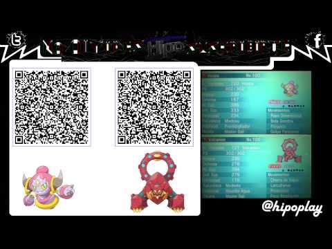 Terminado Code Qr Volcanion Amp Hoopa Pokemon Xy Oras