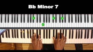 Minor 7 Chords in use (Somewhere Over The Rainbow)