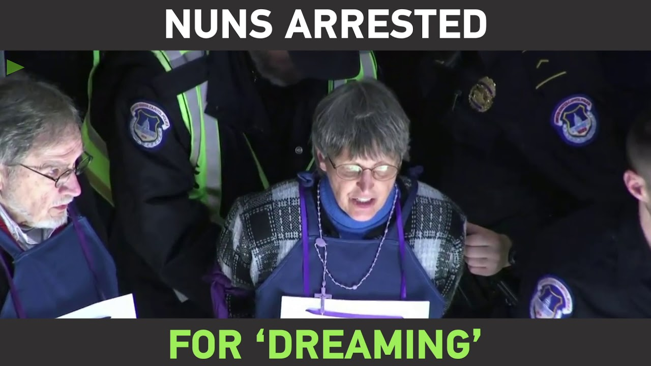 'Arrest a nun, not a Dreamer': Dozens of Catholics detained in Capitol over pro-immigrant demo