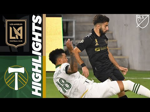 LAFC vs. Portland Timbers | September 13, 2020 | MLS Highlights