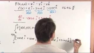 Line Integrals in Vector Fields - Calculus Tutorial