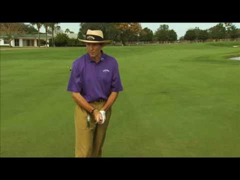 Grip Lesson With David Leadbetter