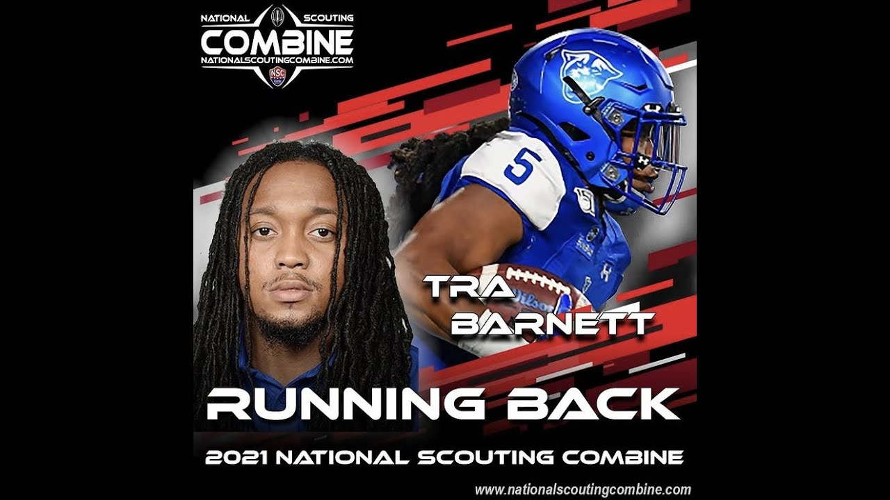 Tra Barnett RB FB Georgia State University