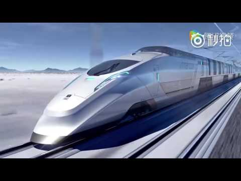 China's Concept Intercontinental High Speed Train