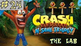 Crash Bandicoot N. Sane Trilogy - GOLD RELIC - The Lab - Level 24 [GUIDE]