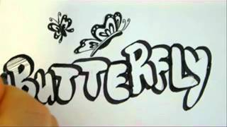 How To Draw Butterflies - Drawing Tutorial