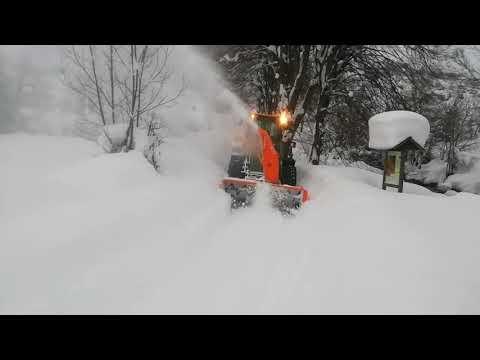 Nieve León Filomena: La UME en Posada de Valdeón - Parte 2