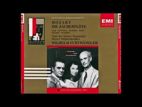 "Mozart ""Die Zauberflöte"" Wilhelm Furtwängler"