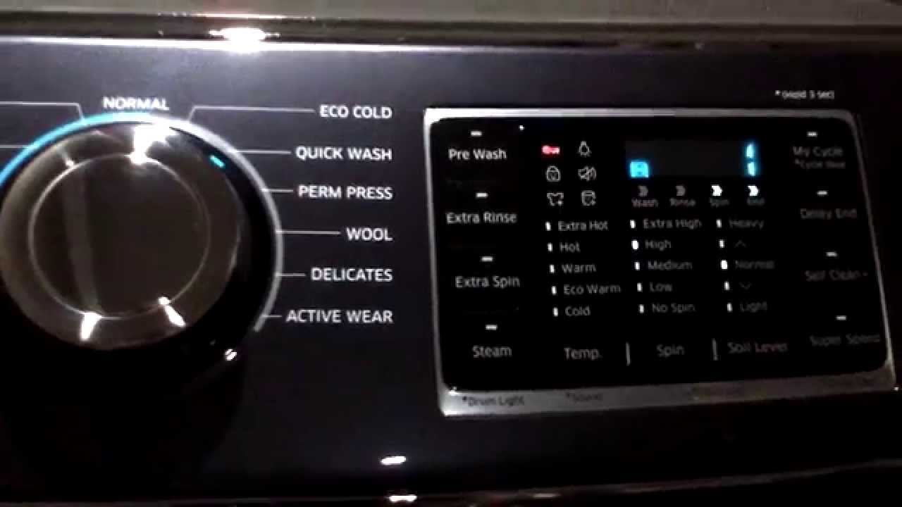 Our New Samsung 6300 Washer And Dryer And A Damm Catchy