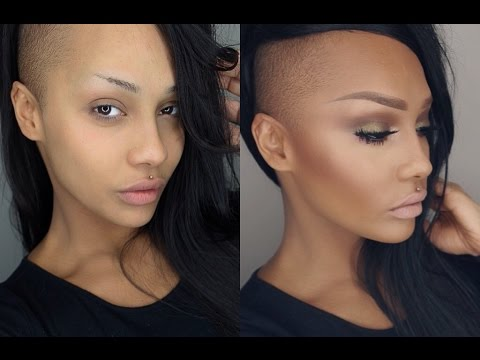 START TO FINISH - SOFT CONTOUR HIGHLIGHT SMOKEY EYE MAKEUP TUTORIAL - SONJDRADELUXE - YouTube