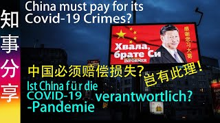#COVID-19: Must China be responsible & pay for the damage for other countries? Muss China bezahlen?