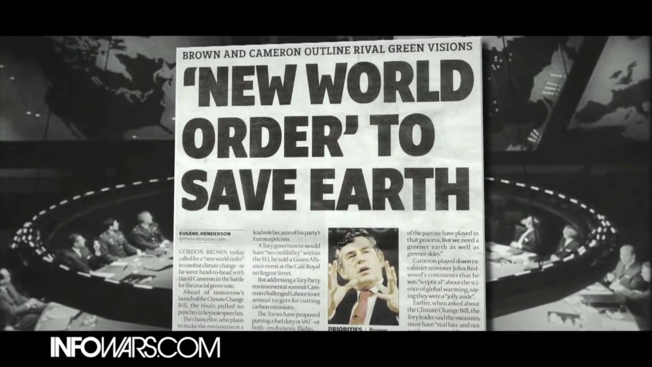 COMPILATION: WORLD LEADERS SPEAK OF NEW WORLD ORDER
