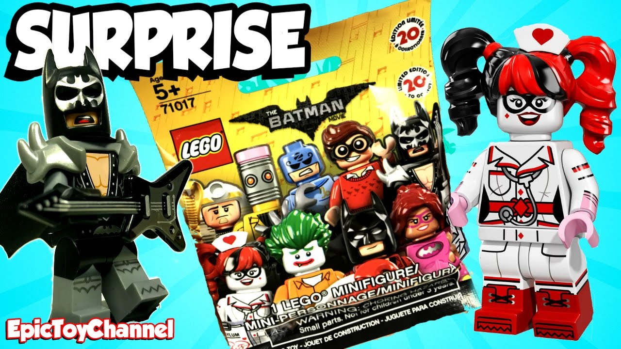 Lego Batman Movie Surprise Blind Bags With Harley Quinn