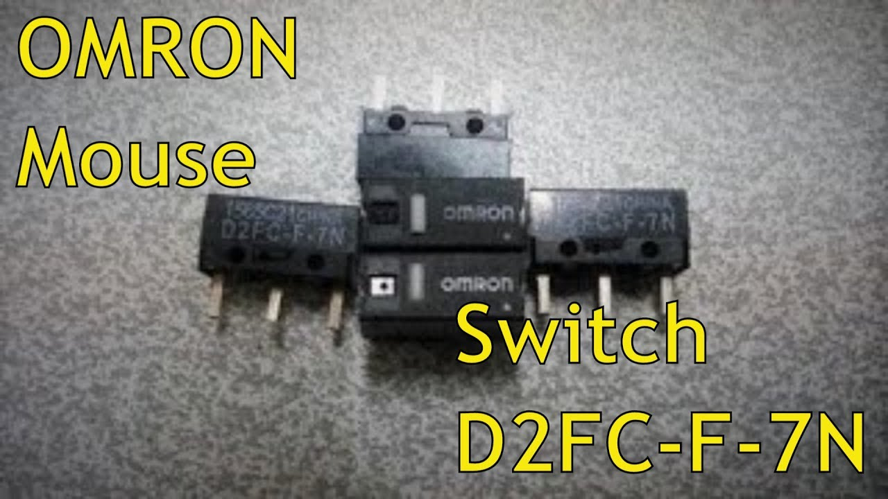 For Mouse HW 10M 5Pcs Micro Switch OMRON D2FC-F-7N