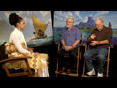 Host Diamond Langi Interviews Disney Moana Directors Ron Clements & John Musker