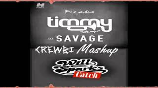Repeat youtube video Timmy Trumpet Ft.Savage vs Will Sparks -  Catch Freaks (CrewBi Masup)