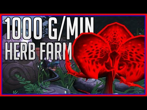1000 Gold/Minute - Dreamleaf Farming Guide (wow gold guide)