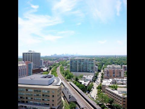 Evanston IL Chicago Skyline