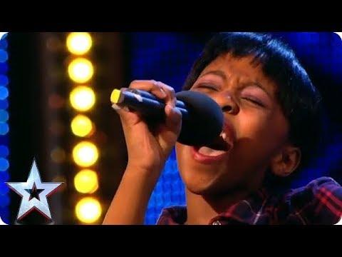 11 year old Diva Asanda Jezile sings Diamonds | Britain's Got Talent