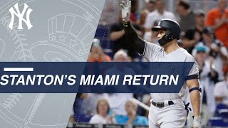 Giancarlo Stanton's Miami return