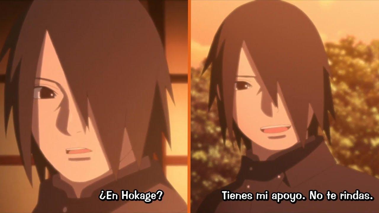 Sasuke se entera de que Sarada quiere se Hokage   Boruto Naruto Next Generations