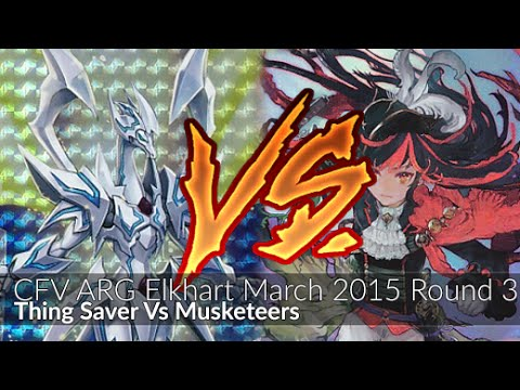 Thing Saver Vs Musketeers - Cardfight!! Vanguard R3 ARG Elkhart March 2015