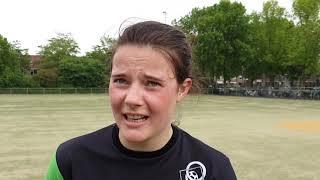 2019-05-18 Veldkorfbal, 2e klasse, ADOS-Woudenberg, interviews kaal