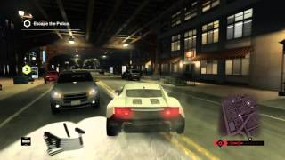 [Watch-Dogs] Causing Chaos while in police parsuit