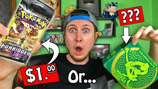 PICKED $1 DOLLAR TREE POKEMON CARD PACKS OVER A BOX! Opening