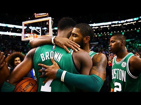 Kyrie Irving Shares Emotional Moment with Jaylen Brown After Death of Best Friend