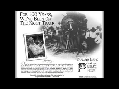 farmers bank ad train