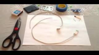 видео Кот погрыз провод зарядку как починить