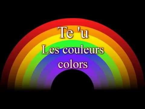 Les couleurs en Tahitien, Tahitian language (colors)